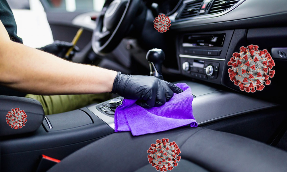 disinfect your car coronavirus