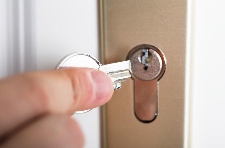 Broken Key from a Lock